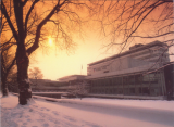 Pebble Mill in the Snow