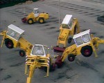 Dancing Diggers at Pebble Mill