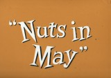 Nuts in May title cards from Oliver White