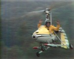 Gyrocopter at Pebble Mill