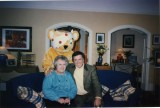 Terry Wogan with Pudsey Bear