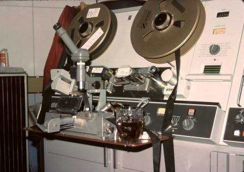 "2"" Quad machine, photo by John Burkill (1976)"