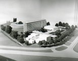 Architectural model of Pebble Mill