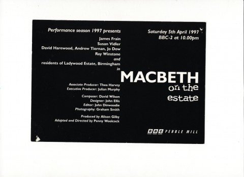 Macbeth TX Card JR