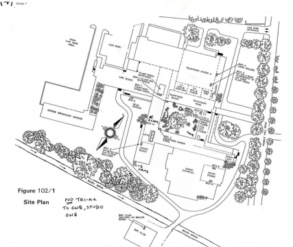 Pebble Mill site map PP