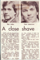 A close shave for Alastair Yates