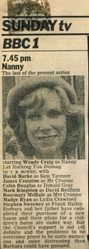 Nanny press cutting 1 JR
