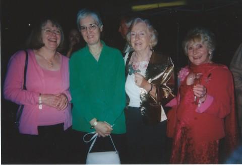 Clara Hewitt, Janet Collins, Margaret Barton, Sheila Brown