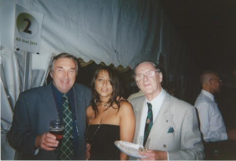 George Henson (manager Comms and Engineering), Ruth Barretto, John Grantham
