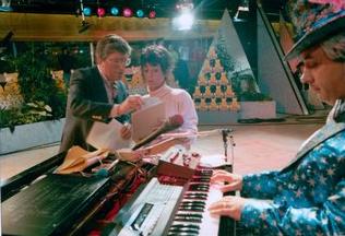 Simon Bates, Cathy Houghton, Mick Murphy