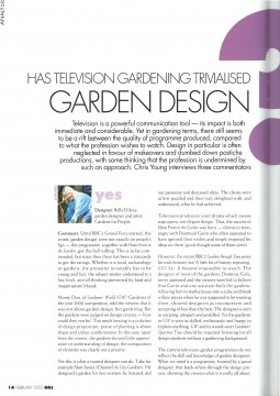 Garden Design Journal, Feb 2005