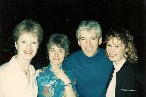 Nicky Savage, Jane Mclean, Tom O'Connor, Jo Dewar