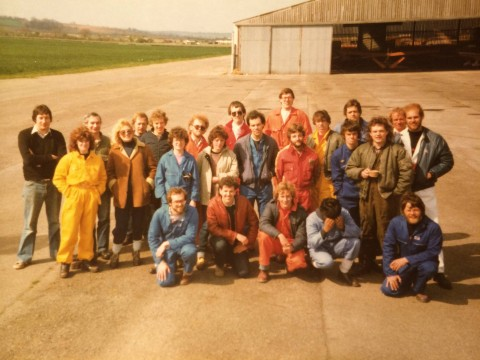 Pebble Mill charity parachute jump