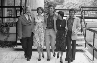 PM@1 Donny Macleod, Marian Foster, Bob Langley, Jan Leeming, David Seymour 7 Sept 1976