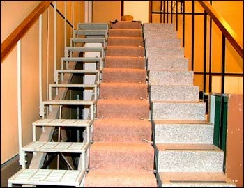 The Archers' staircase from BBC website