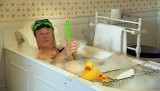Countryfile - John Craven in the bath