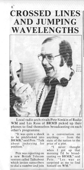 Pebble Mill News, March 1984