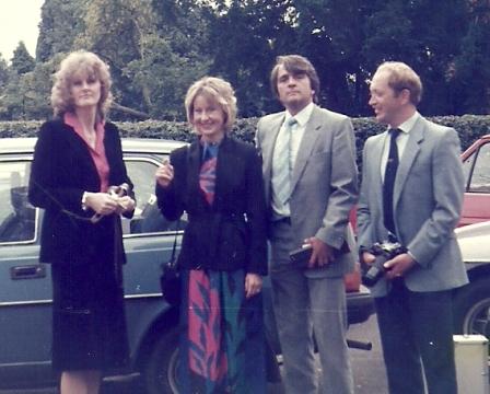 Gail Herbert, Patricia Mifflin, Terry Lindfield, Brian Watkiss AG-W