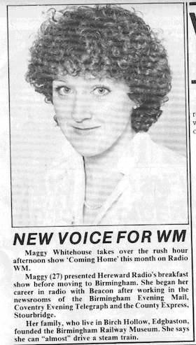 Maggy Whitehouse joins WM