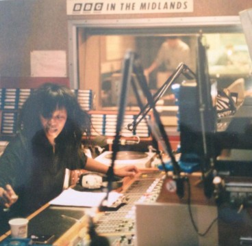 Pat de Whalley in studio