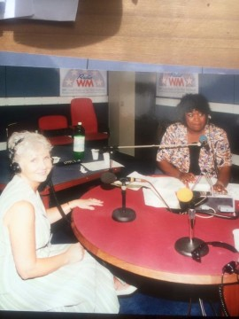 Rustie Lee on WM Sun afternoons Tony Wadsworth