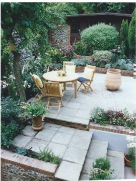 STG John Brookes garden Winchester