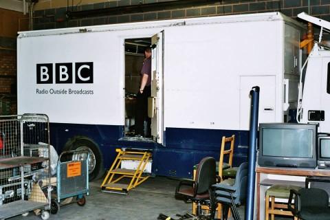 Radio OB truck 2 MF