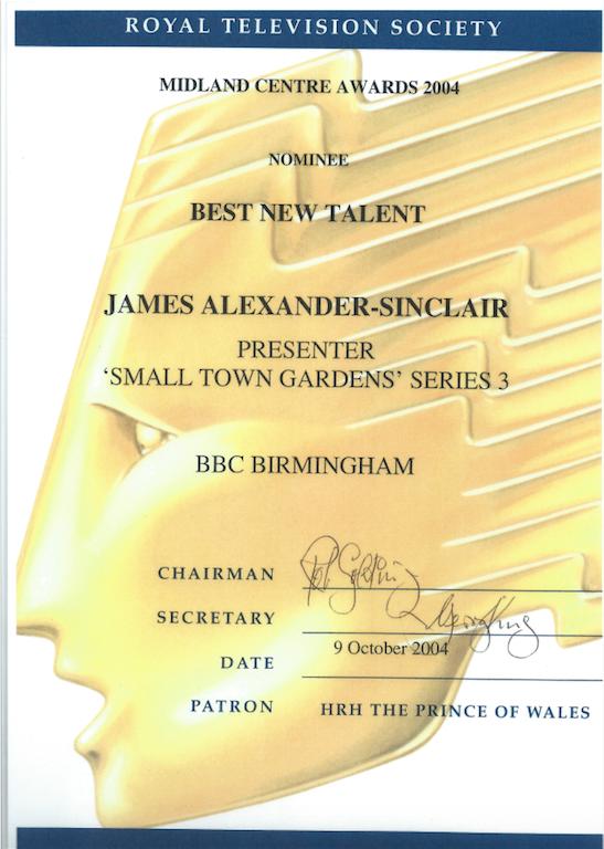 James Alexander-Sinclair RTS