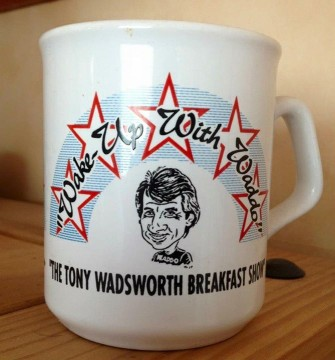 Wake up with Waddo mug TW