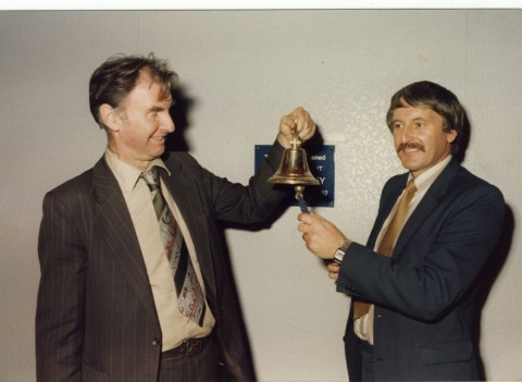 Phil Sidey (right). Copyright resides with the original holder, no reproduction without permission