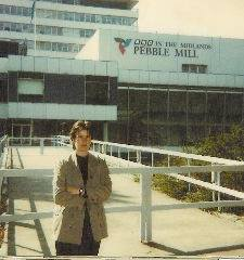 Helen O'Rahilly outside Pebble Mill