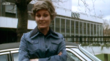 Angela Rippon presenting Top Gear