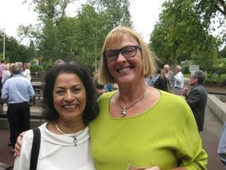 Anita Bhalla, Sue Beardsmore MC