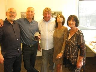 Rick Thompson, Pete Shannon, Jim Knights, Maureen Carter, Cathy Houghton, MC