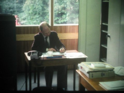 Copyright, Colin Pierpoint. My best office at Wood Norton.