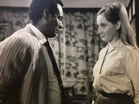 Errol John and Gemma Jones in Rainbow City. Copyright resides with the original holder, no reproduction without permission