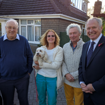 John Williams, Annie Gumbley-Williams, Ivor Williams, Nick Owen