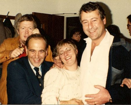 Tony Wolfe, Barry Chatfield, Annie Morris, Keith Moreton. Photo Jane McLean, no reproduction without permission