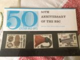 50th Anniversary of the BBC stamps