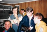 Radio WM Sports Team at Superprix 1986