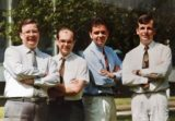 Radio WM Sports Team circa 1990