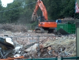 Demolition of Pebble Mill